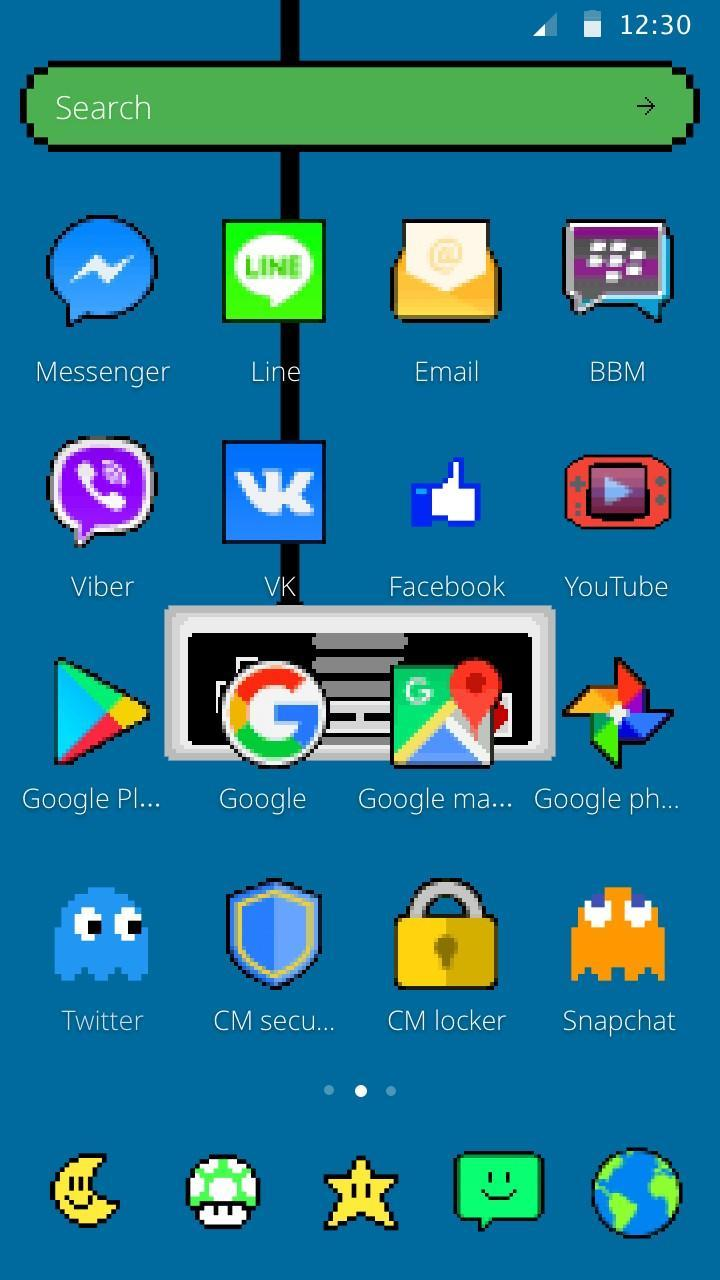 Pixel Art Theme for Android - APK Download