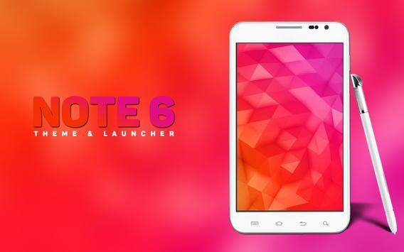 Theme for Galaxy Note 6 apk screenshot