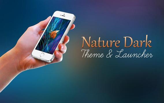 Nature Dark Theme poster