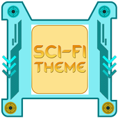 Sci-Fi Theme & Launcher icon