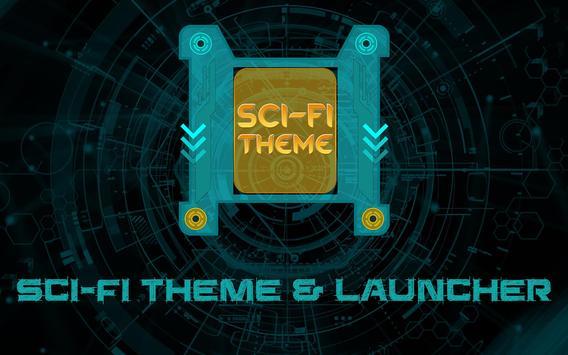 Sci-Fi Theme & Launcher apk screenshot
