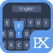 Classic Blue Keyboard Theme icon