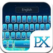 Galaxy sky Keyboard Theme icon