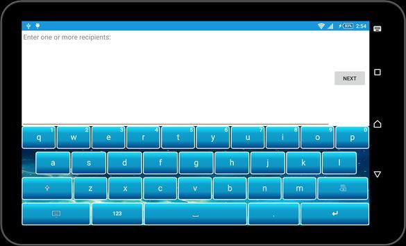 Galaxy sky Keyboard Theme apk screenshot
