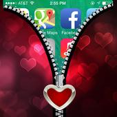 Love Zipper Screen icon