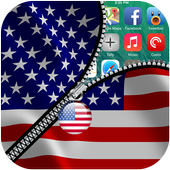 USA Zipper Screen icon