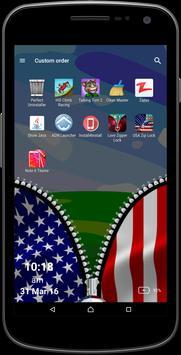 USA Zipper Screen apk screenshot