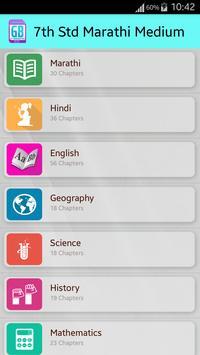 GlassBoard 6th Marathi Med apk screenshot