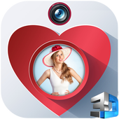 3D Love Photo Frame icon