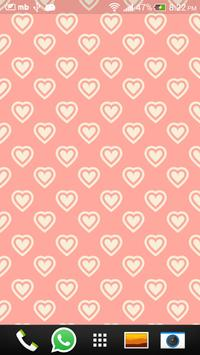 Pink Love Live Wallpapers screenshot 1