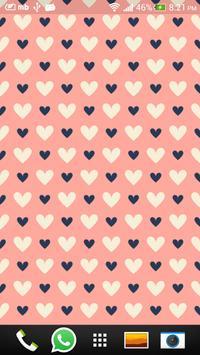 Pink Love Live Wallpapers screenshot 2