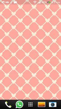 Pink Love Live Wallpapers screenshot 3