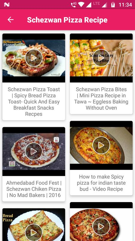 Pizza all recipes video new hd descarga apk gratis comer y pizza all recipes video new hd captura de pantalla de la apk forumfinder Image collections