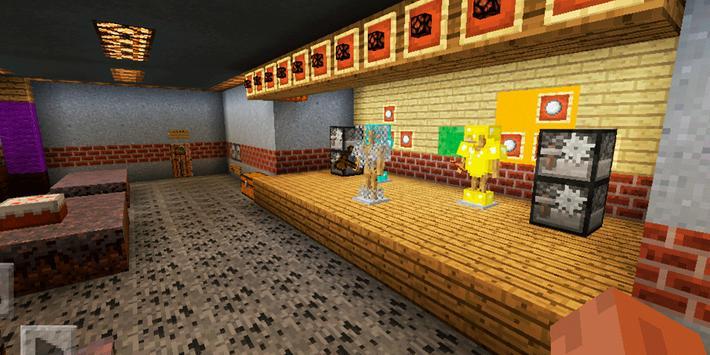 FNAF Horror Pizzeria Adventure. Map for MCPE screenshot 16