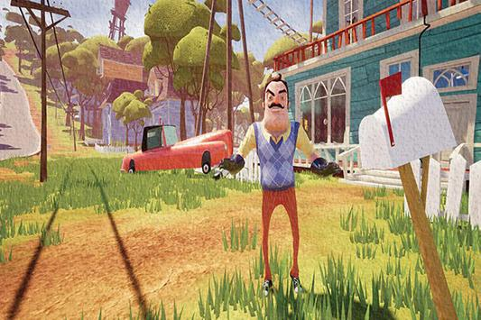 Hello Neighbor(Basement) Free HD  Wallpaper apk screenshot