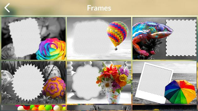 Color Splash Photo Frames screenshot 4