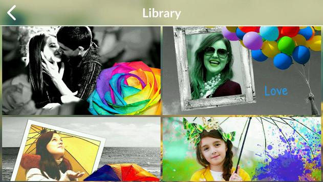 Color Splash Photo Frames screenshot 5