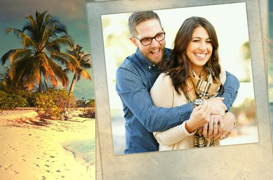 Island Beach Photo Frames poster