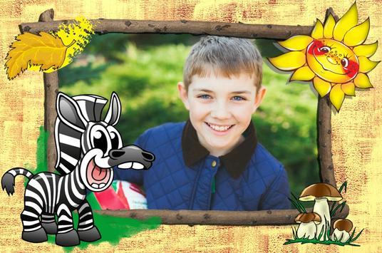 Kid Photo Frames poster