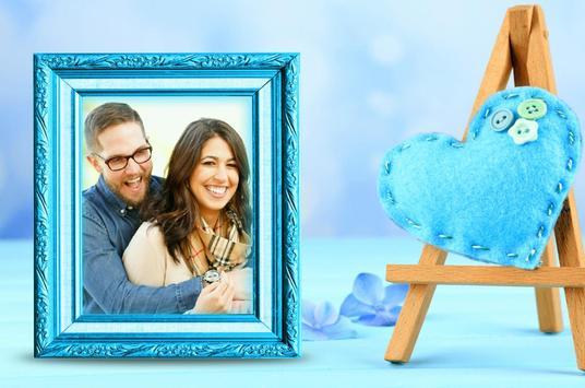 Romantic Couple Photo Frames poster