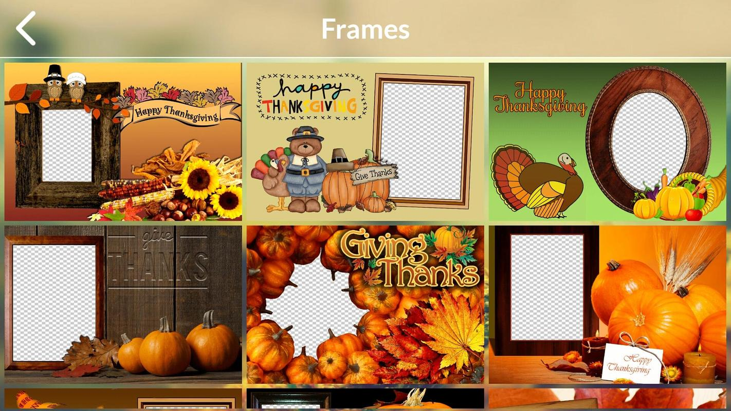 Thanksgiving Photo Frames 2017 for Android - APK Download