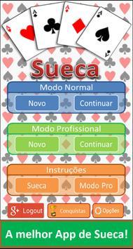 Sueca Portuguesa Grátis - Jogo de Cartas apk screenshot