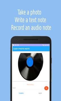 Easy Photo Note fast notes screenshot 1