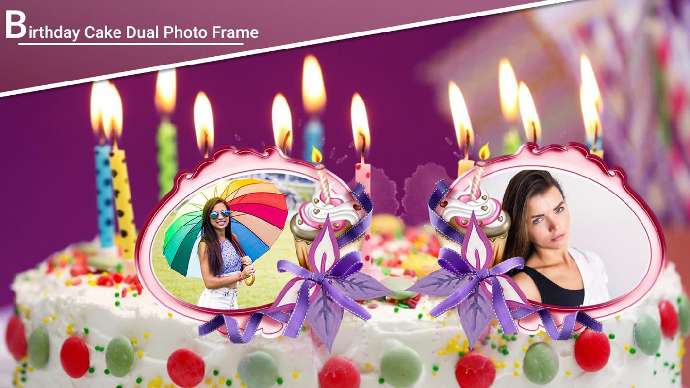 Birthday Cake Dual Photo Frame Hd For Android Apk Download