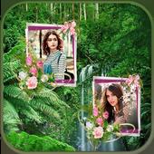 Jungle Dual Photo Frames icon