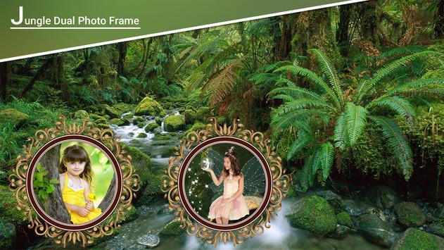 Jungle Dual Photo Frames screenshot 3