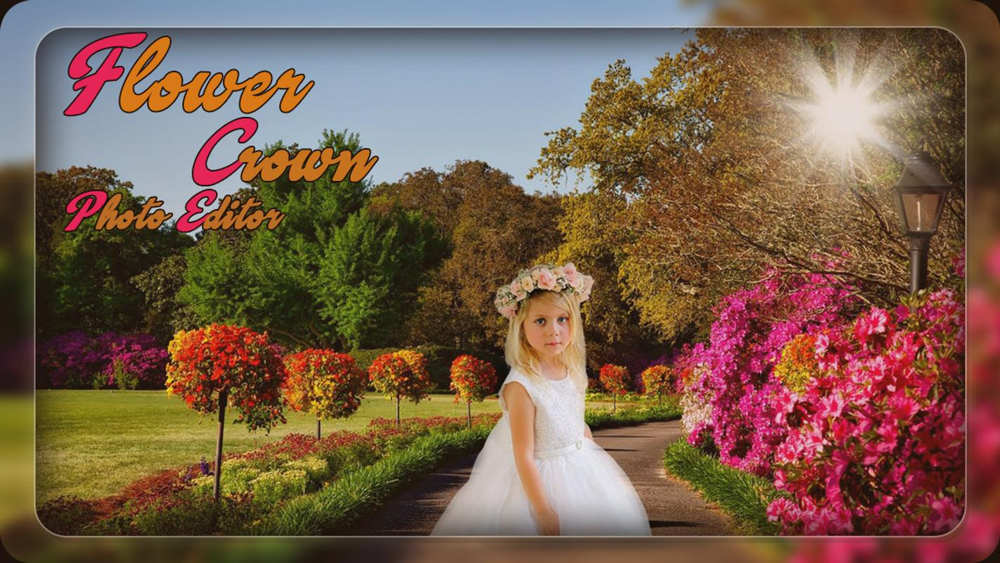 Flower Crown Photo Editor Photo Frames For Android Apk Download