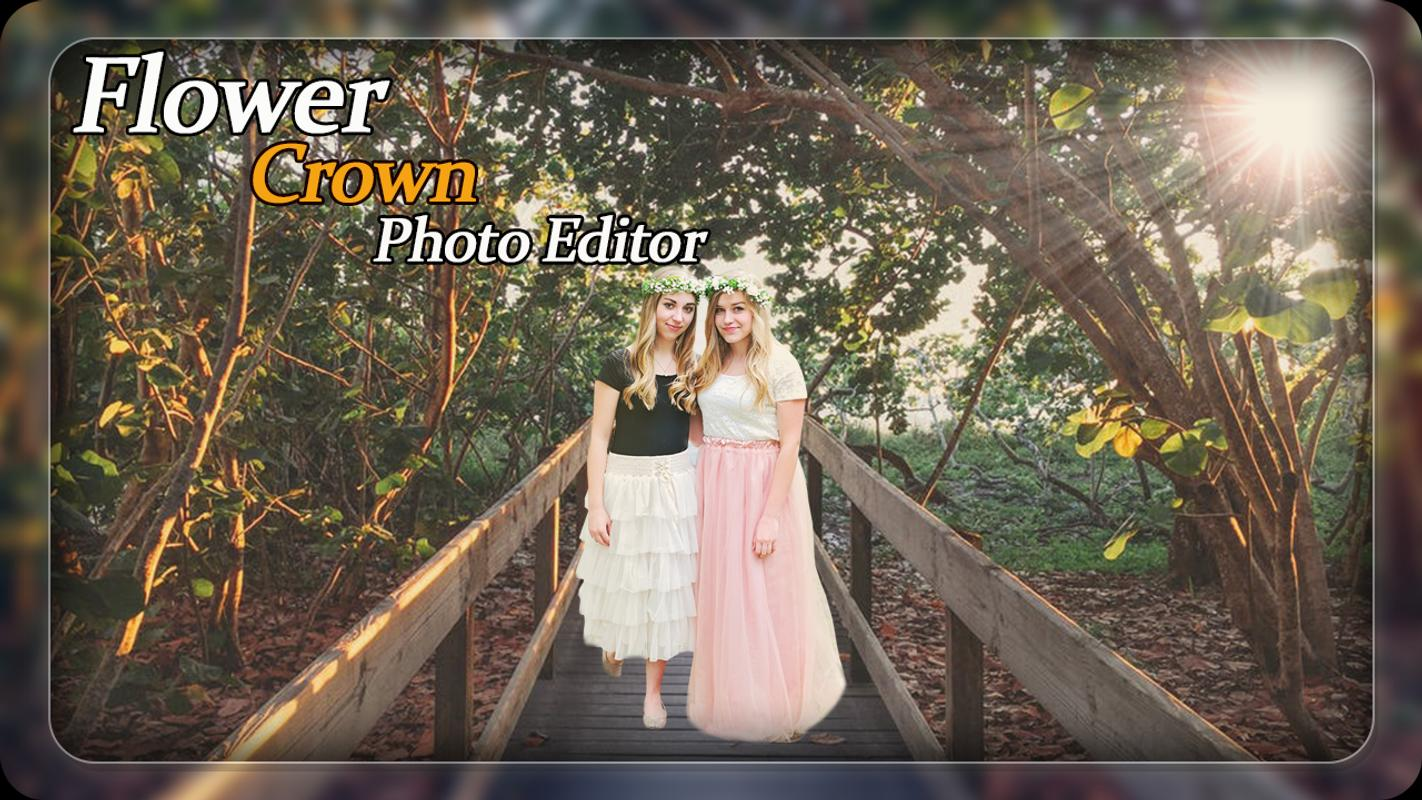 Flower crown photo editor photo frames for android apk download flower crown photo editor photo frames 1 izmirmasajfo