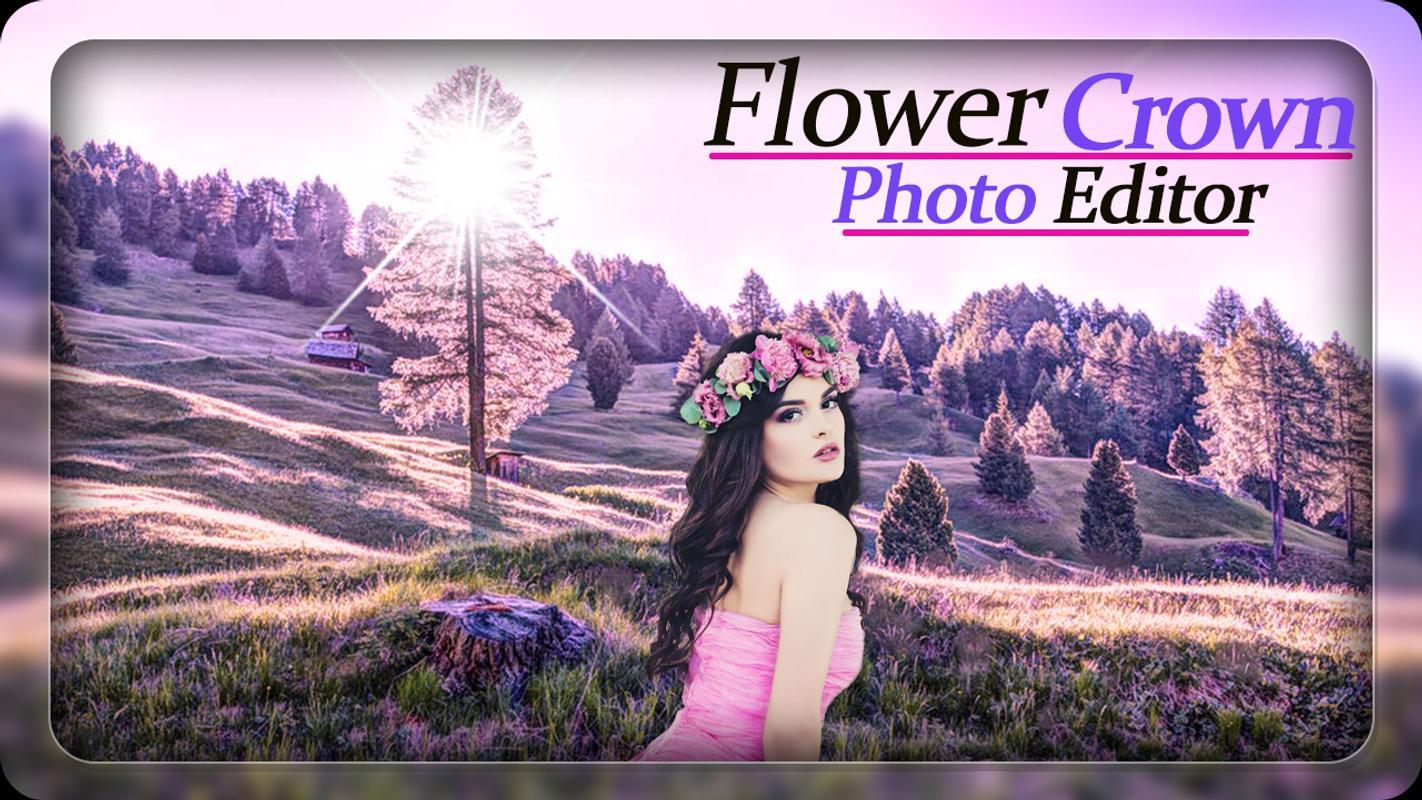 Flower crown photo editor photo frames for android apk download flower crown photo editor photo frames 2 izmirmasajfo