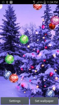Christmas Tree Live Wallpaper apk screenshot