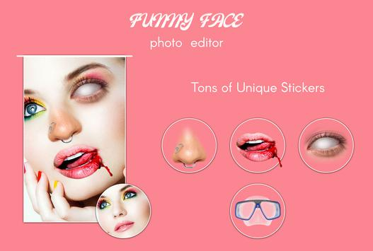Funny Face Photo Editor poster