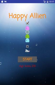 Happy Alien apk screenshot