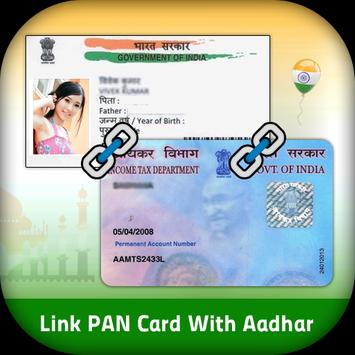 Link Aadhar With PAN poster