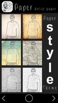 Paper Artist:Photo Sketch poster