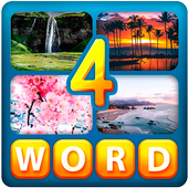 Game android Quiz of 4 pics 1 word APK online free