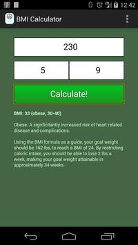 BMI Calculator poster