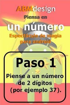 Piensa en un número: Magia! apk screenshot