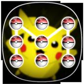 Pattern lock for Poke pikacho icon