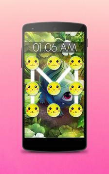 Pattern lock for Poke pikacho poster