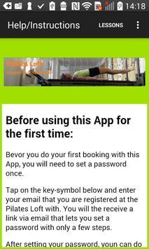 The App for the Pilates Loft apk screenshot