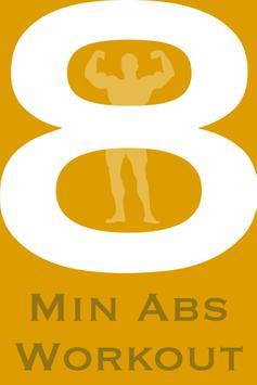 8 Min Abs Workout screenshot 1