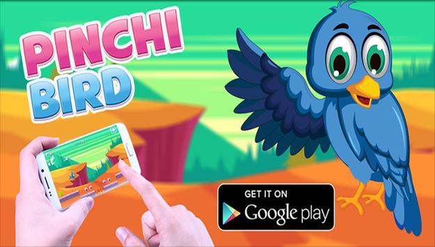 Pinchi twitter Bird Aventuras poster