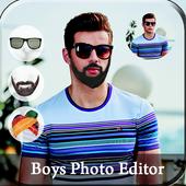 Boys Photo Editor icon