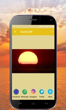 Sunrise GIF Collection apk screenshot