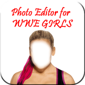Photo Editor For WWE Girls icon