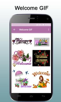 Welcome GIF poster